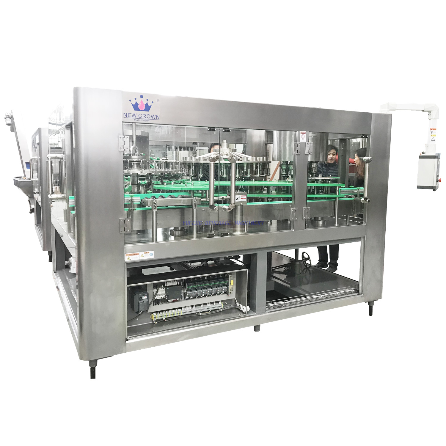 10000BPH Glass Bottle Juice Filling Machine