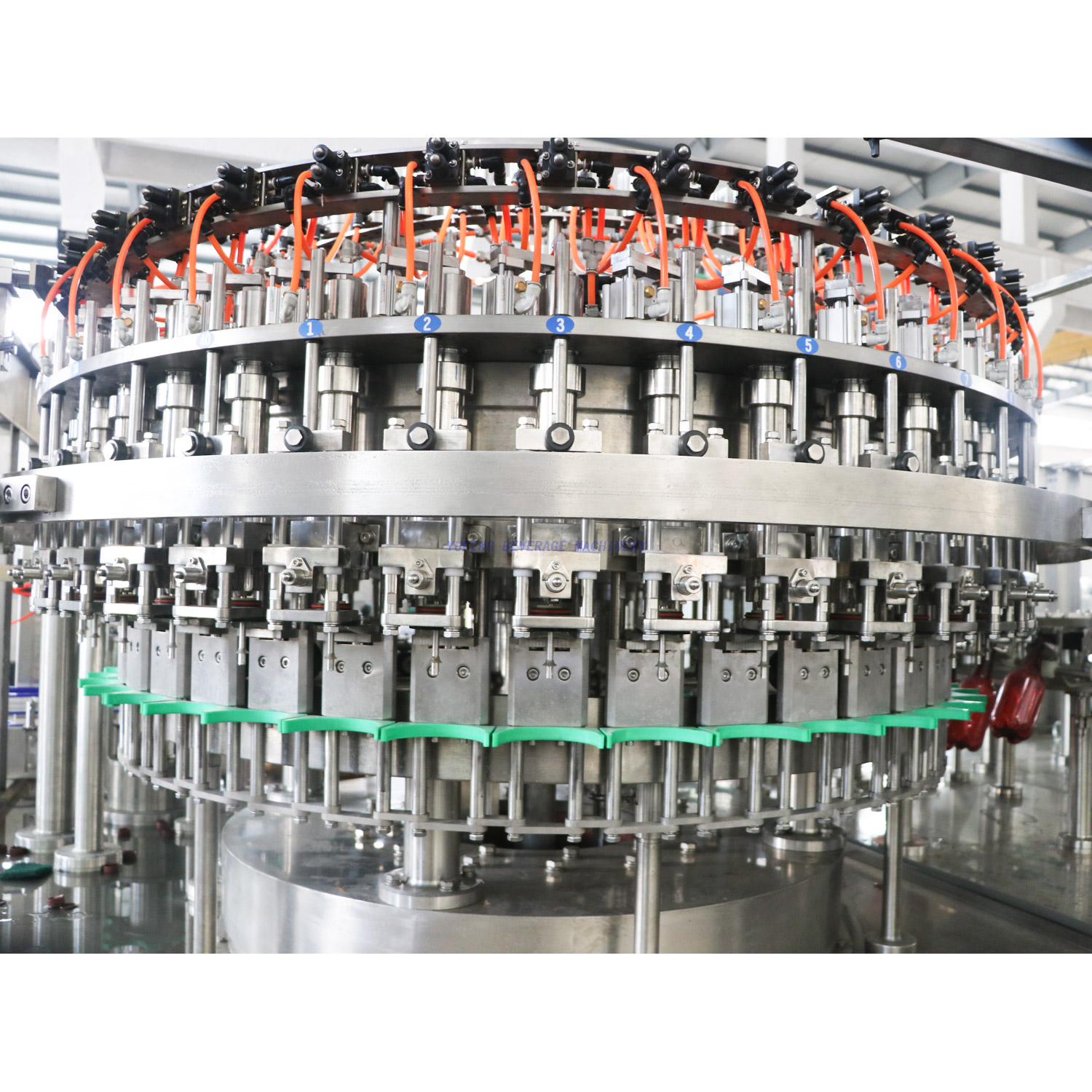 5000BPH PET Bottle Beer Filling Machine