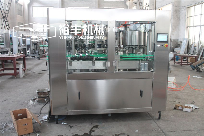 Aluminum Can Beer Filling Machine