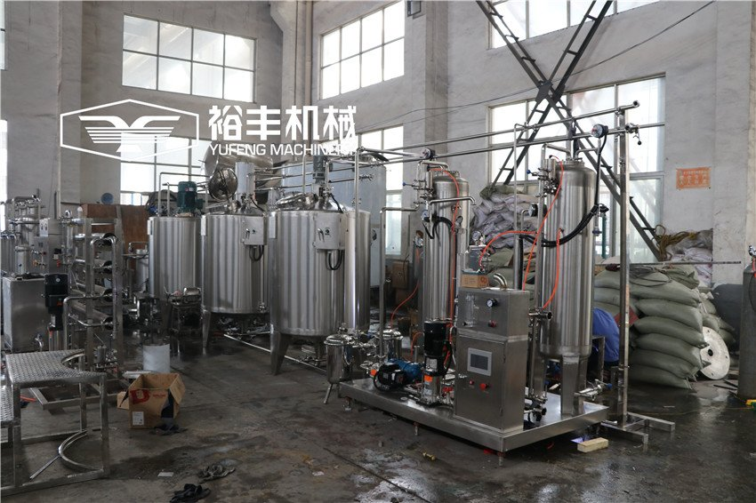 Soft Drink Plant Machinery