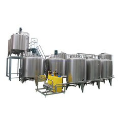 Beverage and Juice Mixing Production Line
