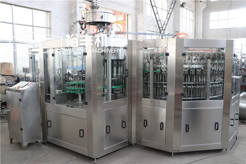 Correct usage of carbonated beverage production line