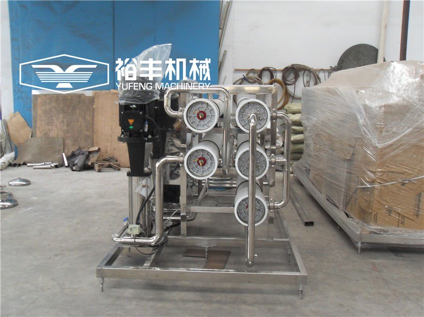2 Step Reverse Osmosis Drinking Water Production Machine