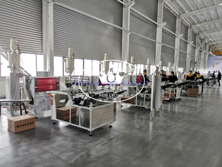 Melt Down Fabric Extrusion Machine Line