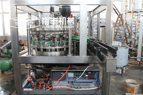 Monoblock 2 in 1 Soda Can Filling And Seaming Machine